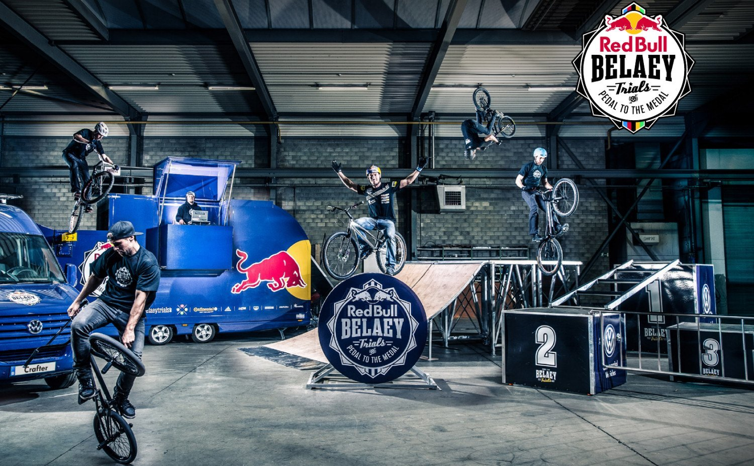 Red Bull Belaey Trials Pedal to the Medal